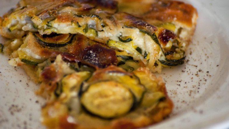 Tarte aux légumes rôtis